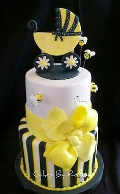 It's been far too long since we oohed and aahed over Sweet baby shower cakes, minions. I blame mys...