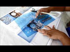 Vida com Arte | Pintura em tecido com aplicação em MDF por Rose Ferreira - 15 de fevereiro de 2017 - YouTube