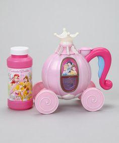 Look at this #zulilyfind! Royal Bubble Blower Carriage Set by Disney #zulilyfinds