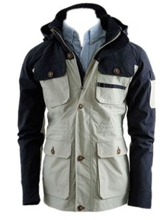 QualityUC Mens American Clothes Fashion Outdoor Camping Gear Jacket