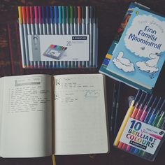 Today was spent setting up my bullet journal and reading it was therefore a good day!
