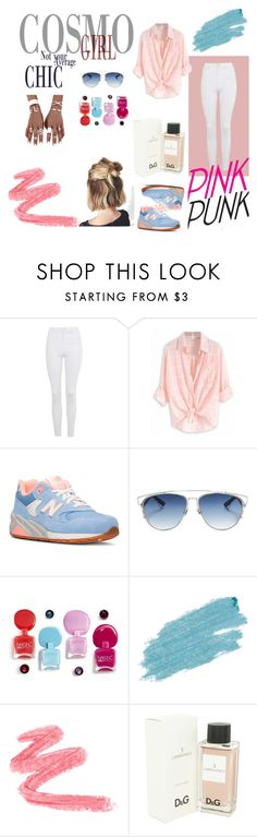 """""""PURPURE"""" by patig717 on Polyvore featuring мода, Topshop, New Balance, Christian Dior, Jane Iredale и Dolce&Gabbana"""