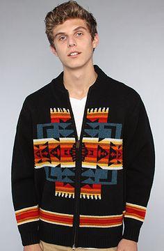 $90 Pendleton The Zip Front Cardigan - Use repcode SMARTCANUCKS for 10% off on #PLNDR - http://www.lovekarmaloop.com