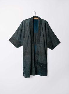 """vintage """"tokachi"""" boro kimono"""