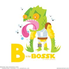 b is for bossk: star wars alphabet