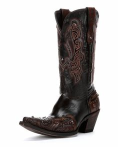 Lucchese Women's Granito Cafe Calf Boot