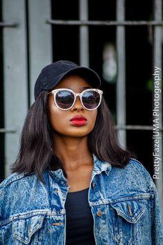 How to style an oversized denim jacket. denim, Lagos, NigerianBlogger, Nigerianfashionblogger, Streetstyle