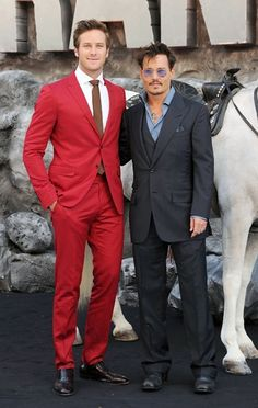 Armie Hammer and Johnny Depp. http://www.vogue.in/content/best-dressed-mens-edition-20#7