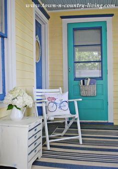 Simple Decorating Ideas for Your Front Porch