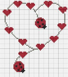 Thrilling Designing Your Own Cross Stitch Embroidery Patterns Ideas. Exhilarating Designing Your Own Cross Stitch Embroidery Patterns Ideas. Wedding Cross Stitch, Cross Stitch Heart, Cross Stitch Alphabet, Cross Stitch Flowers, Cross Stitching, Cross Stitch Embroidery, Embroidery Patterns, Hand Embroidery, Cross Stitch Designs