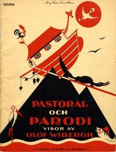 Einar Nerman, from the Images Musicales collection, Pastoral och parodi, 1932