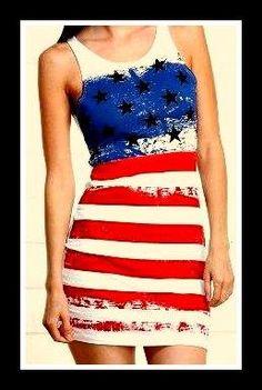 ✩✩American Flag dress✩✩