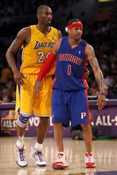 Allen iverson and Kobe