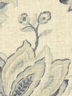 Greys VINTAGE GARDEN RAIN Robert Allen Fabric Content 55 LINEN