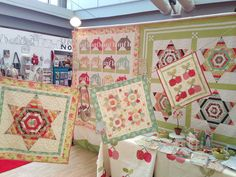 fig tree quilts  Joanna Figueroa | Joanna Figueroa of Fig Tree never disappoints! This is her booth for ...