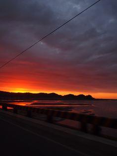 Loving the sunset and reflection!  @Mancora, Piura, Perú  Honeymoon