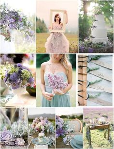 sage and lilac wedding inspiration www.bloomsby.com/try