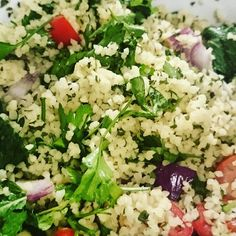 I made my own tabbouleh Recipes From Heaven, Cobb Salad, Meal Prep, Healthy Lifestyle, Yummy Food, Healthy Recipes, Meals, Photos, Instagram