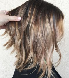Long Layered Bob For Fine Hair