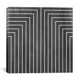 Found it at AllModern - Modern Art Mid Century Modern Geometric Pattern 90 Graphic Art on Canvas