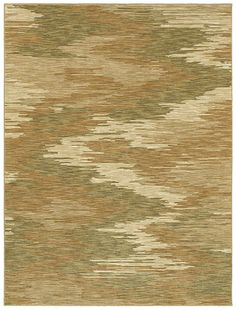 """HGTV HOME Flooring by Shaw area rug in style """"Ethos"""" color Beige."""