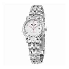 Tissot Women's T95118391 Stainless Steel Silver-Tone Watch