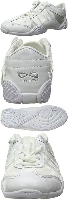 Cheerleading 66832: Nfinity Adult Evolution Cheer Shoes, White, 5.5 -> BUY IT NOW ONLY: $102.44 on eBay!