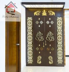 Living Room Tiles Design, Kitchen Room Design, Diy Kitchen, Kitchen Storage, Temple Design For Home, Dream Home Design, House Design, Front Door Design Wood, Pooja Room Door Design