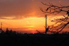 Tramonto a Renazzo - sabato 24 gennaio 2015 - Canon EOS 1200D