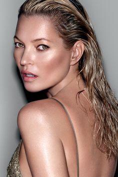 Get a supermodel glow like #KateMoss with the incredible skin essences of #DecorteBeauty at Saks.com. #SaksBeauty.