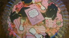 Pink Graduation Cut Out Cookies with Royal Icing