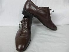 Florsheim Designer Collection Men's Shoes 8 1 2 Eee Dress Leather Lace Up Shoes | eBay