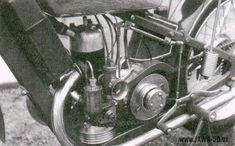 Unikátní motocykl Jawa 175 s vodouchlazeným válcem a kompresorem