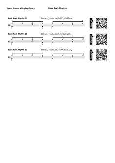 Videos, Drums, Math, Percussion, Sheet Music, Math Resources, Drum, Drum Kit, Mathematics