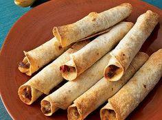 BEEF TAQUITOS   Mexican Recipes   vkrazycatt2001   Just A Pinch Recipe Club - via  #food #mexican #recipes