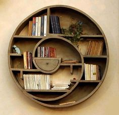 Spiral shelf. Beautiful!!