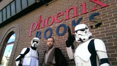 PW Daily: Picture of the Day - Star Wars Reads Day at Phoenix Books Burlington