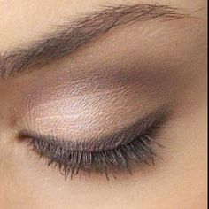 Have to decide on eyeliner or no liner. If i do smudged like this