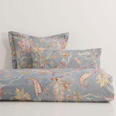 Blue Floral Print Bed Linen - Bed Linen - Bedroom   Zara Home Oman