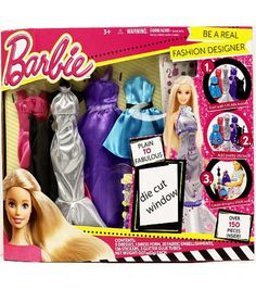 Barbie Be A Real Fashion Designer Play Set Barbie Fashion Designer Barbie Playset