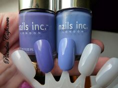 Nails Inc. St. John's Wood (left) and Nails Inc. Chalk Farm (right)