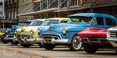 Classic Cars Classic Car Lineup Antique and by LifeCapturedByGail
