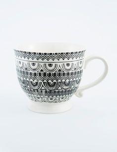 DANDAK mugg svart | Mugs/cups | null | Glas & Porslin | Inredning | INDISKA Shop Online