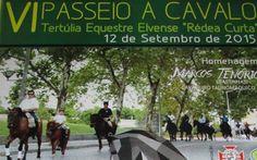 Rédea-Curta prepara para mais um passeio equestre | Elvasnews