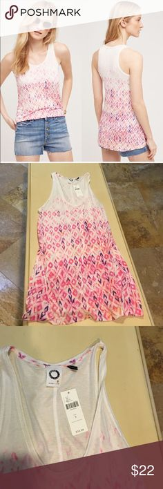 Anthropologie tank top Soft comfortable and easy to wear Anthropologie Tops Tank Tops