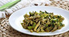 frikase_me_manitaria_130114 Greek Recipes, Asparagus, Bbq, Vegan, Vegetables, Food, Barbecue, Studs, Veggies
