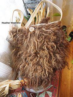 Raw fleece bag part 2