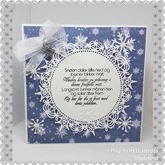 #christmas #homemadebyme #blue #card