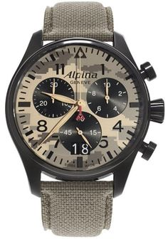 @alpinawatches  Startimer Pilot Camouflage Special Edition #add-content #basel-16 #bezel-fixed #bracelet-strap-cordura #brand-alpina #case-material-black-pvd #case-width-44mm #date-yes #delivery-timescale-call-us #dial-colour-grey #gender-mens #luxury #movement-automatic #new-product-yes #official-stockist-for-alpina-watches #packaging-alpina-watch-packaging #style-dress #subcat-startimer #supplier-model-no-al-372mly4fbs6 #warranty-alpina-official-2-year-guarantee #water-resistant-100m