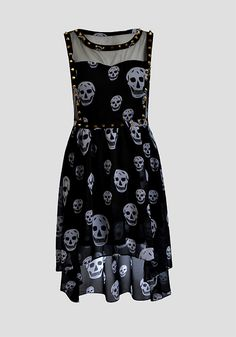 Cute summer skull dress #skull #dark #women #fashion #dress